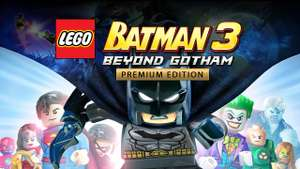 LEGO Batman 3: Beyond Gotham Premium Edition (Game + Season pass) £7.49 @ Steam