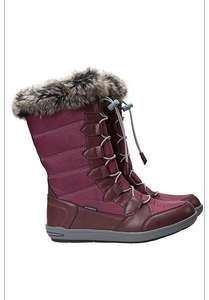 Firbank Womens Burgundy Snowboots - £29.99 + 15% off with code SCHOOL @ Mountain Warehouse  - RRP £159.99
