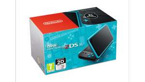 New Nintendo 2DS XL HW Black and Turquoise + Maro Kart 7 (3DS) + Legend of Zelda Adventurer's Pouch £159.99 @ Tesco direct