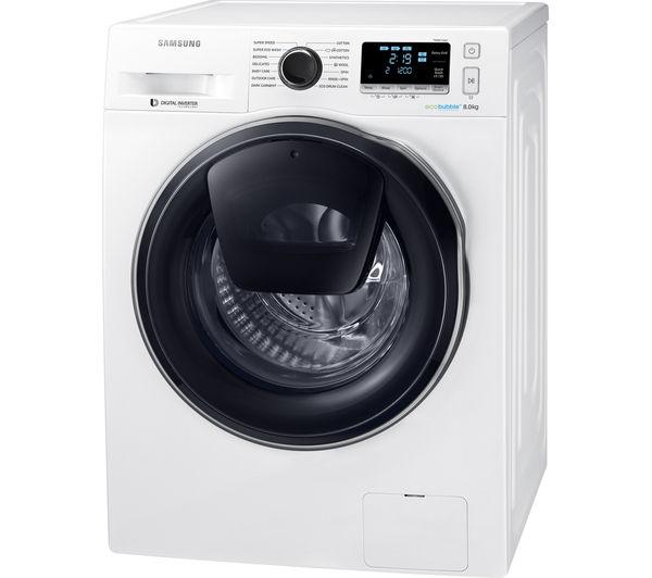 SAMSUNG AddWash WW80K6414QW Washing Machine £489.99 at Currys - White *£300 off Cheapest its ever been* SMART washing machine
