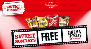 Free Sunday Cinema ticket with £3 Chocolate Pouch