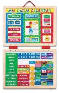 Melissa & Doug Magnetic Calendar £10.00 @ Tesco Direct *Free Click & Collect*