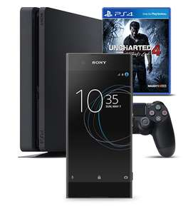 Sony XA1 + PS4 + Uncharted 4 + x4 data from £18 pm with Virgin Mobile (24 x 18 = £432