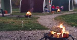 Glamping upto five nights at £129 at Groupon / campingbugs.co.uk