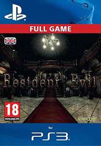 Resident evil HD remake (PS3) download £4.99 @ amazon