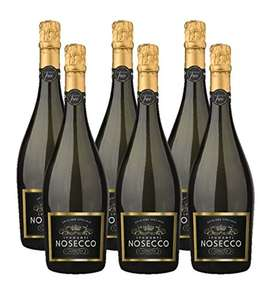 Nosecco Alcohol Free Sparkling Wine, 75 cl, Case of 6 £3.99 Free delivery for Prime members (+£4.75 non_prime) **Temporarily out of stock but don't let that put you off!**