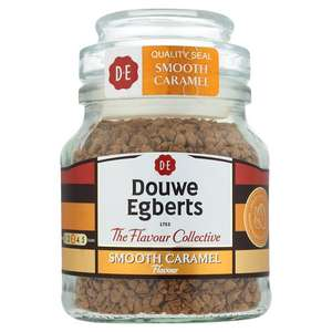 Douwe Egberts 50g Smooth Caramel & Roasted Hazelnut half price £1.50 @ Tesco