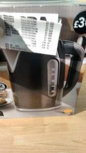 Adjustable temperature Kettle Asda Weymouth £9.17 was £30