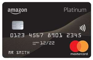 A FREE £10 Gift Card CREDIT from AMAZON with Amazon Platinum MasterCard