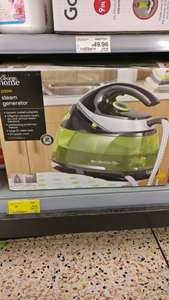 2200w steam generator iron was £60 now only £25 @asda instore