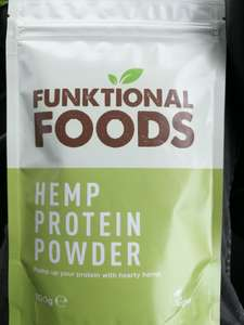 100% natural hemp protein powder £2.49 at Aldi