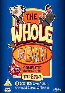 Mr Bean: The Whole Bean - Complete Collection (Box Set) [DVD] £10.12 @ Zoom/EBAY