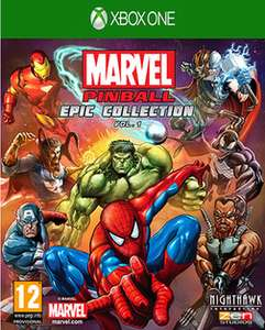 Marvel Pinball Greatest Hits – Volume 1 Xbox One GAME - 15 in Stock £9.99