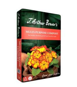 3 x 40L bags of J Arthur Bowers Multi-Purpose Compost (120L) £6 @ Homebase (C&C only)
