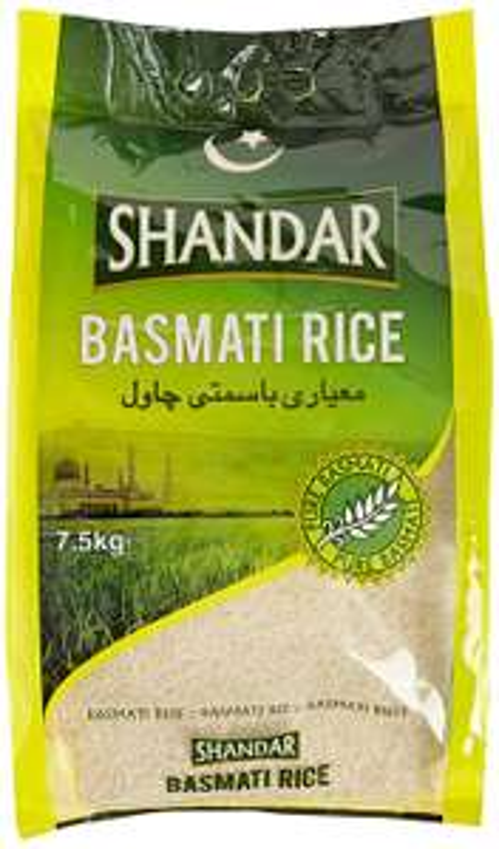Shandar Basmati Rice 7.5kg for £7.50 @ Sainsbury's
