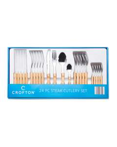 Crofton Steak Cutlery Set Only £14.99 @ Aldi (INSTORE ONLY)