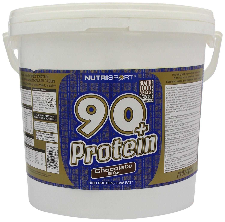 Nutrisport 90+ Protein 5Kg Chocolate (OOS) £28.99 @ Amazon