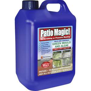 Patio Magic 2.5L - £6.50 @ Wilko