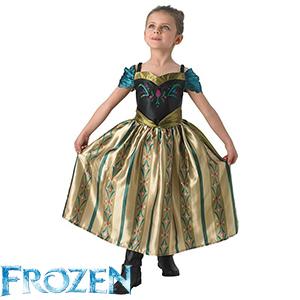 Disney Frozen Coronation Anna/Coronation Elsa Costume age 7-8 £4.99 + del @ HomeBargains