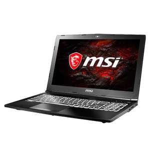 MSI GL62M 7REX - 1252CN Gaming Laptop  -  INTERNATIONAL WARRANTY SERVICE  BLACK £688.13 @ Gearbest