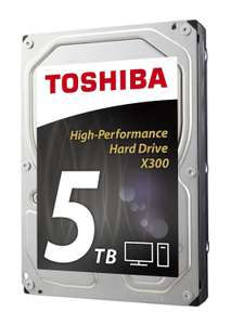 "Toshiba X300 5TB 3.5"" SATA Extreme-Performance Hard Drive £118.98 delivered @ ebuyer"