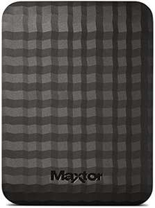 Maxtor M3 4 TB USB 3.0 Slimline Portable Hard Drive - Black £100.43 @ Amazon