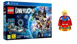 Lego dimensions with super girl ps4 edition £54.99 - Smyths
