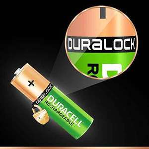 Pack of 4 Duracell NiMh 2500Mah rechargeable batteries £7.99 delivered (from TradeNRG) at Amazon