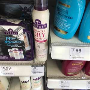 Aussie Dry Shampoo @ Boots clearance now only instore for £1.18