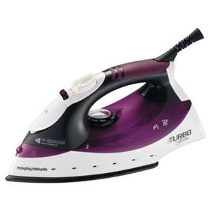 Morphy Richards 40699 Turbo Steam Iron for £14.99 at Hughes