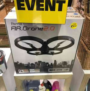 Parrot AR Drone.  Robert Dyas Canary Wharf.  £99.93 instore