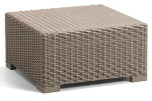 Allibert by Keter California Rattan Outdoor Coffee Table Garden Furniture - Cappuccino - £29.99 @ Amazon