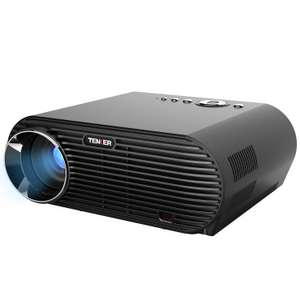 TENKER Projector, 3200 Lux 1280x800 Resolution LCD Video Projector ONLY £99.49 Sold by dvtecheu and Fulfilled by Amazon - lightning deal