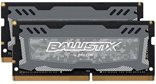 Ballistix Sport LT 32GB Kit (16GBx2) DDR4 2400 MT/s (PC4-19200) laptop memory for £150.15 Sold by Kikatek / Amazon