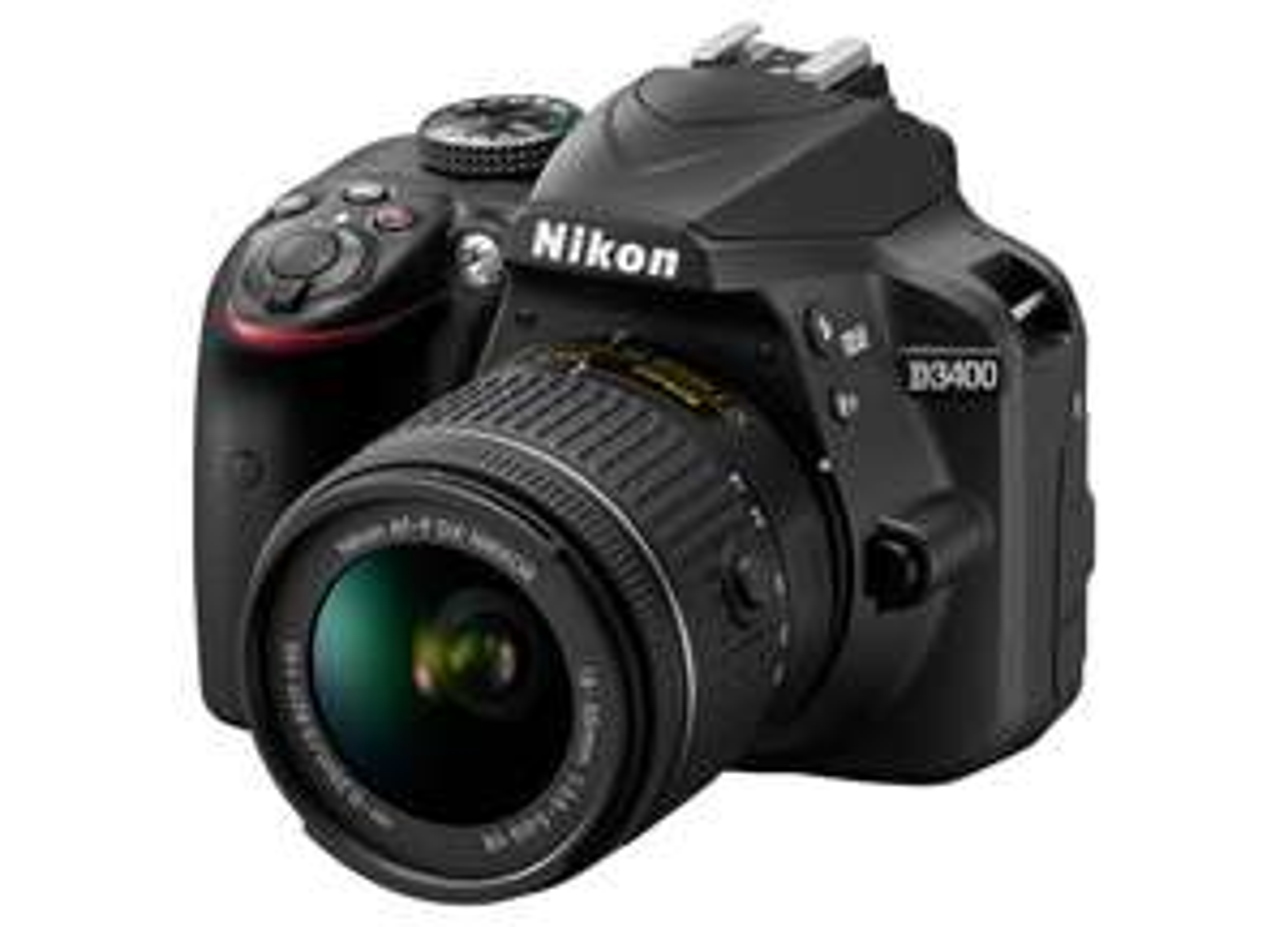 Nikon D3400 DSLR with 18-55mm VR Lens £374 with code @ Argos / John Lewis