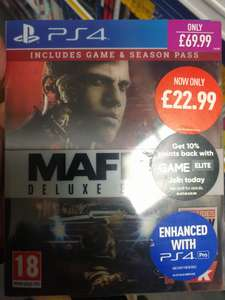 Mafia 3 Deluxe Edition [PS4 & X1] £22.99 @ Game