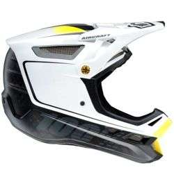 100% Aircraft DH Helmet - BiTurbo White £106.99 with code @ ChainReactionCycles