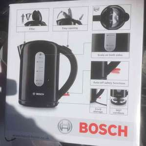 Bosch 3000w Electric Kettle £8.32 Asda less than half price