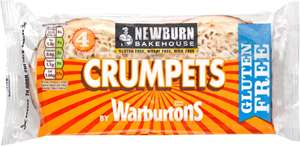 Warburton's Newburn Bakehouse Crumpets (4s) was £2.05 now £1.02  @ Waitrose