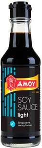 Amoy Dark, Light or Reduced Salt Soy Sauce (150ml) was £1.19 now 79p @ Waitrose