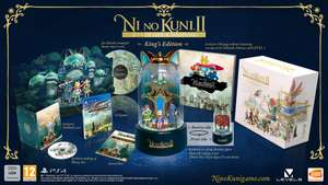 Ni No Kuni 2 Revenant Kingdom Kings Edition pre-order for PS4 and PC at Zavvi with discount code