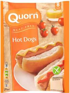 Quorn Meat Free 8 Hot Dogs (270g) was £1.90 now 4 for £6.00 @ Asda