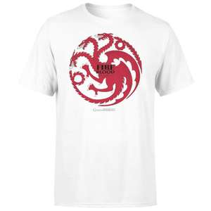 Game of Thrones T-Shirt Now Only £9.99 + Get a Free Gift Worth £29.99! + Free delivery @ ZAVVI