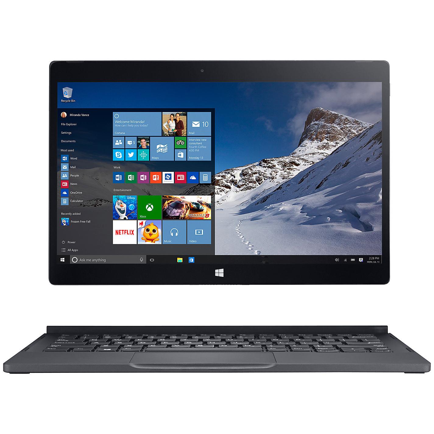 "Dell XPS 12-9250 Laptop, Intel Core M3, 128GB SSD, 4GB RAM, 12.5"" Full HD @ John Lewis £449.99"