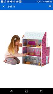 Beautiful dolls house & kitchen in one @ argos eBay outlet for £26.99
