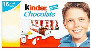 Amazon Prime Exclusive - Kinder Chocolate Mini Treats 16 Pieces 200 g (Pack of 10) - £10
