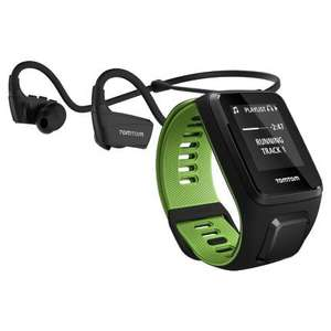 TomTom Runner 3 Music Wireless Headphones Multisport GPS small at Wiggle for £66.66