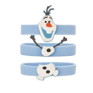 Triple pack of Frozen Disney wrist bands £2.99 - Amazon add on item