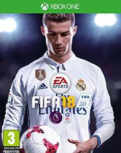 Fifa 18 standard edition for the xbox one is £44.85 @ Simply Games + quidco 2% cash back.