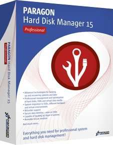 Paragon Hard Disk Manager 15 Professional - £30 Sold by Par_Soft and Fulfilled by Amazon.